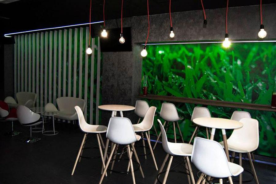 Mobiliario para bares y cafeterías moderno, carpintería en Murcia